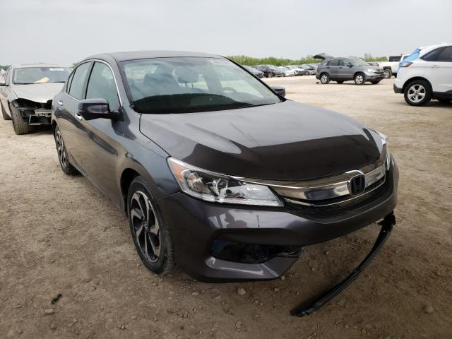 Salvage cars for sale from Copart Temple, TX: 2017 Honda Accord EXL