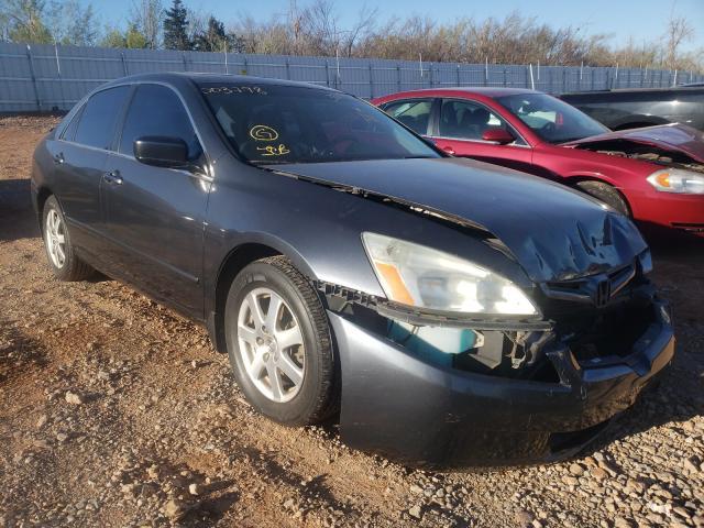 Vehiculos salvage en venta de Copart Oklahoma City, OK: 2005 Honda Accord EX