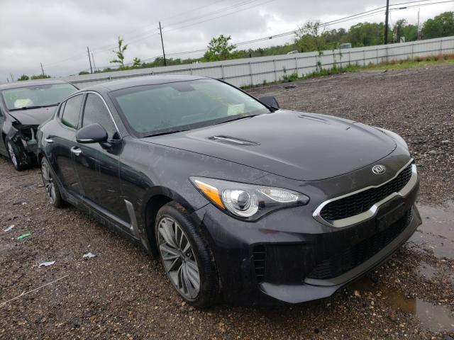 Salvage cars for sale from Copart Houston, TX: 2019 KIA Stinger