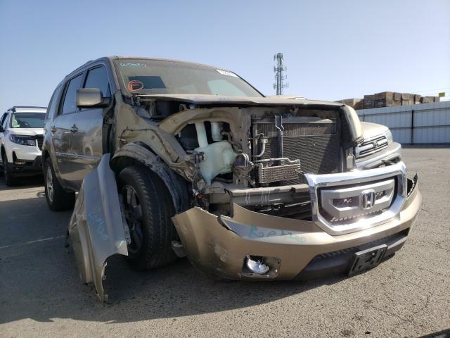 2011 HONDA PILOT EXL 5FNYF3H53BB045635