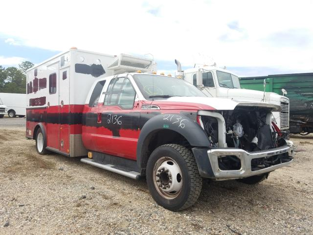 Salvage cars for sale from Copart Brookhaven, NY: 2015 Ford F450 Super