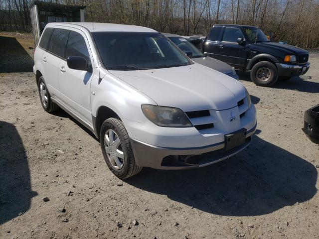 Salvage cars for sale from Copart Arlington, WA: 2004 Mitsubishi Outlander