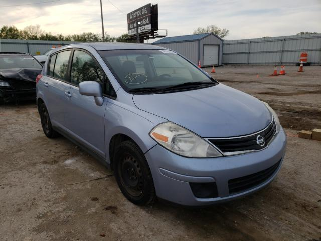 Salvage cars for sale from Copart Wichita, KS: 2009 Nissan Versa S