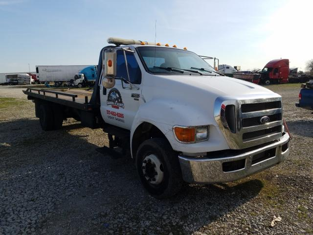 Salvage cars for sale from Copart Cicero, IN: 2008 Ford F650 Super