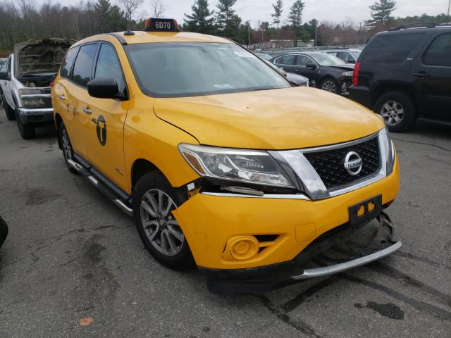 Salvage cars for sale from Copart Exeter, RI: 2014 Nissan Pathfinder