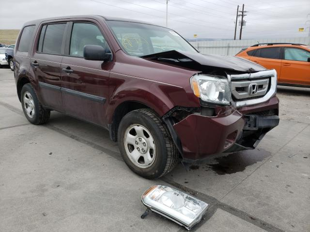 Salvage cars for sale from Copart Littleton, CO: 2011 Honda Pilot LX