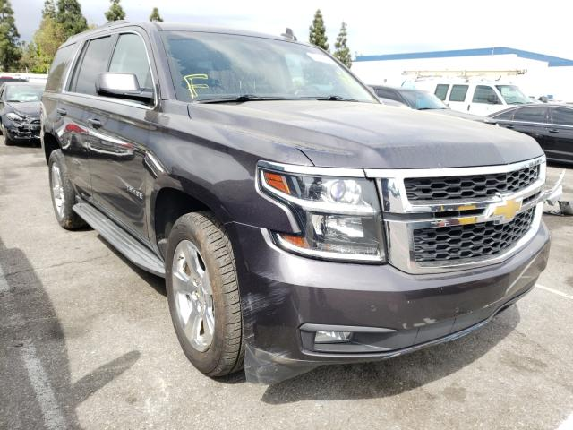 Salvage cars for sale from Copart Rancho Cucamonga, CA: 2015 Chevrolet Tahoe C150