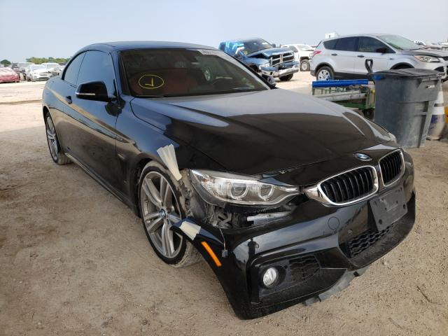 Salvage cars for sale from Copart Temple, TX: 2016 BMW 435 I