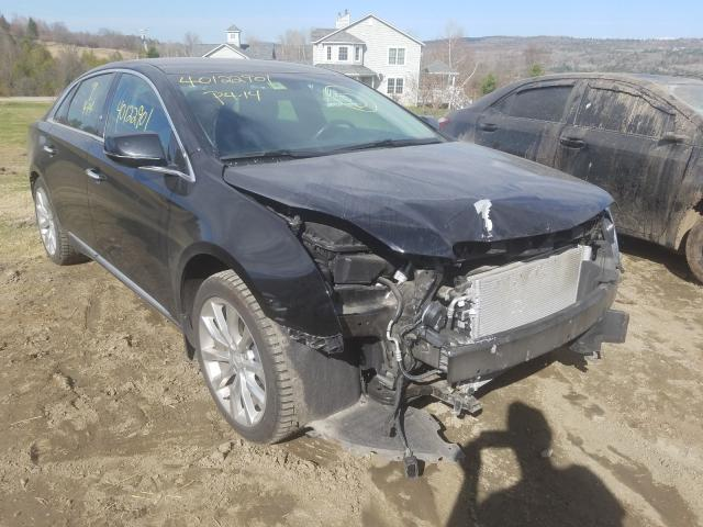 Salvage cars for sale at West Warren, MA auction: 2017 Cadillac XTS Luxury
