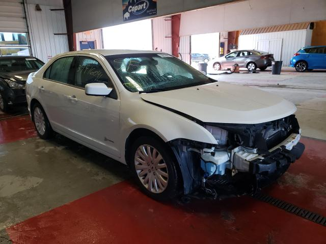 Salvage cars for sale from Copart Angola, NY: 2012 Ford Fusion Hybrid