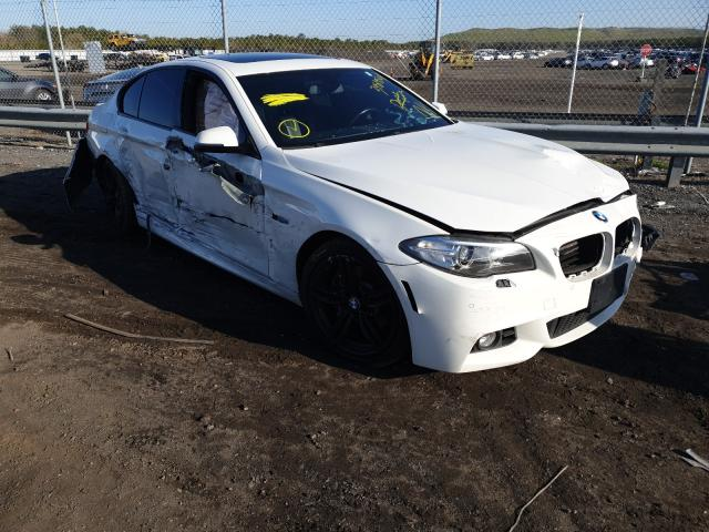 Salvage cars for sale at Brookhaven, NY auction: 2016 BMW 535 XI