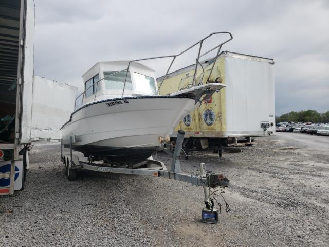 Bayliner salvage cars for sale: 1989 Bayliner Boat Trail