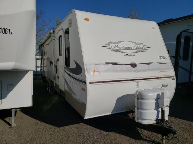 Keystone Montana salvage cars for sale: 2007 Keystone Montana
