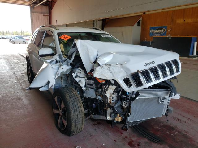 Salvage cars for sale from Copart Angola, NY: 2020 Jeep Cherokee L