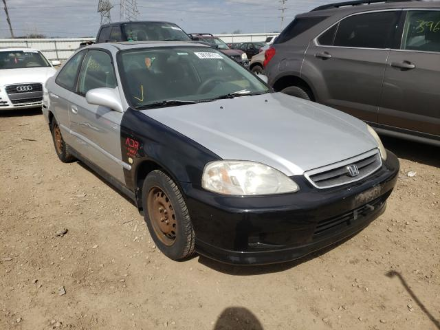 Salvage cars for sale at Elgin, IL auction: 1999 Honda Civic EX