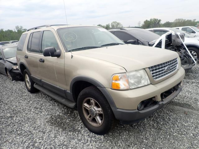 Salvage cars for sale from Copart Spartanburg, SC: 2003 Ford Explorer X
