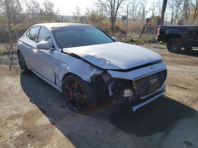 Genesis G70 Prestige salvage cars for sale: 2021 Genesis G70 Prestige