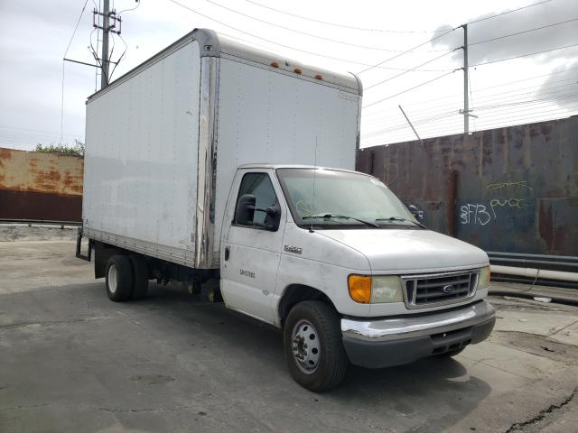 Salvage cars for sale from Copart Wilmington, CA: 2006 Ford Econoline