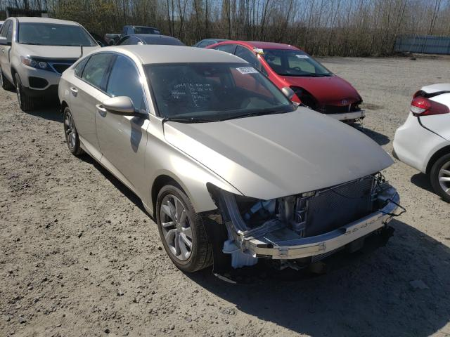 Salvage cars for sale from Copart Arlington, WA: 2018 Honda Accord LX