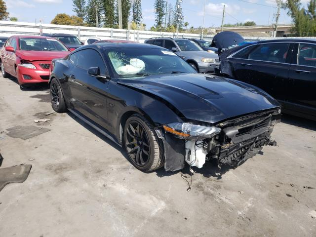 Salvage cars for sale from Copart Miami, FL: 2019 Ford Mustang GT