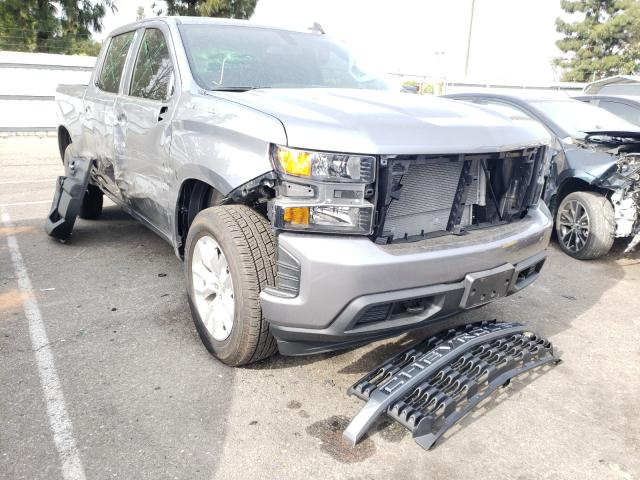 Salvage cars for sale from Copart Rancho Cucamonga, CA: 2021 Chevrolet Silverado