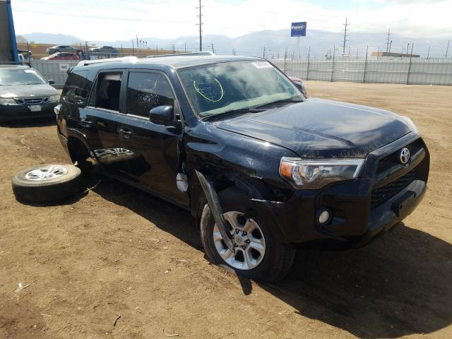 Salvage 2016 TOYOTA 4RUNNER - Small image. Lot 38951651