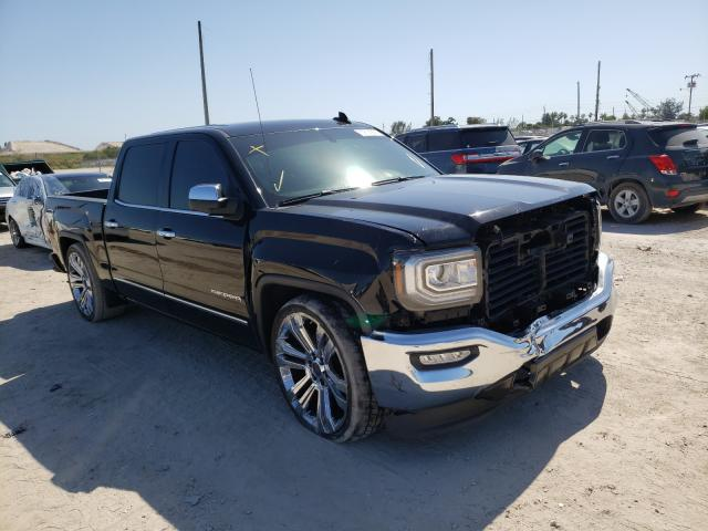 Salvage cars for sale from Copart West Palm Beach, FL: 2017 GMC Sierra C15