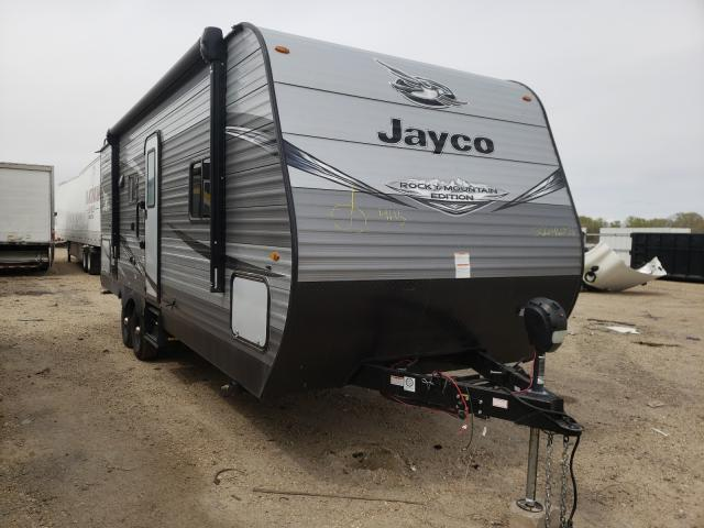 Jayco Travel Trailer salvage cars for sale: 2020 Jayco Travel Trailer