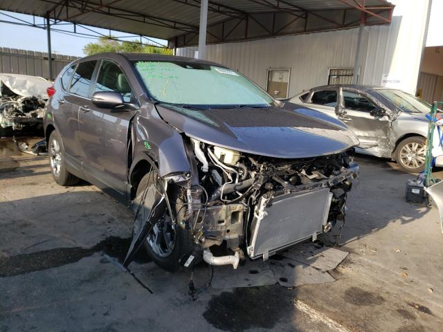 Salvage cars for sale from Copart Orlando, FL: 2019 Honda CR-V EX