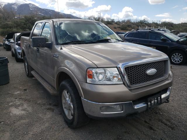 Salvage cars for sale from Copart Reno, NV: 2004 Ford F150 Super