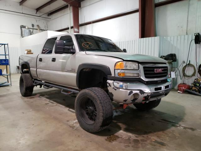 Salvage cars for sale from Copart Lufkin, TX: 2005 GMC Sierra C25