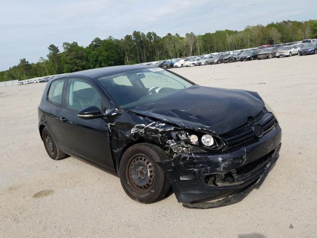 Volkswagen salvage cars for sale: 2010 Volkswagen Golf