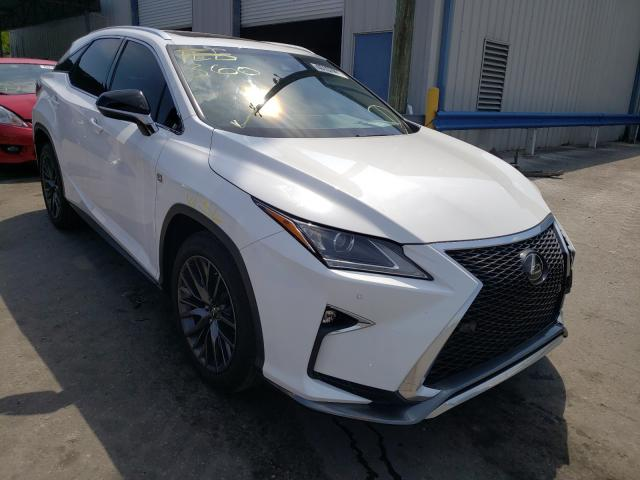 Salvage cars for sale from Copart Orlando, FL: 2017 Lexus RX 350 Base