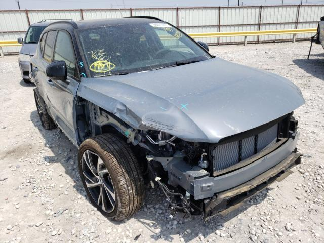 Volvo salvage cars for sale: 2021 Volvo XC40 T5 R