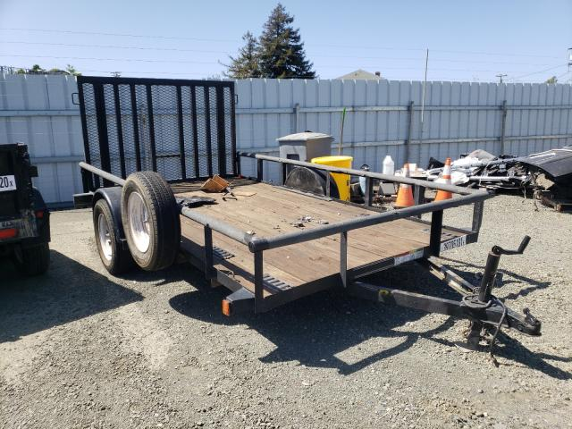 Salvage cars for sale from Copart Vallejo, CA: 2008 Big Tex Trailer