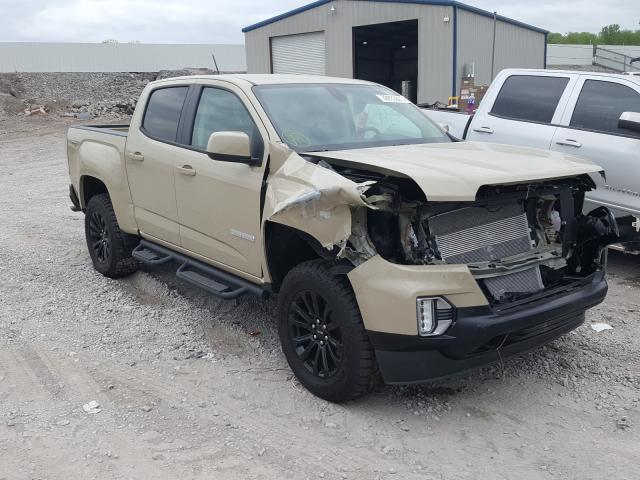 Salvage cars for sale from Copart Hueytown, AL: 2021 GMC Canyon ELE