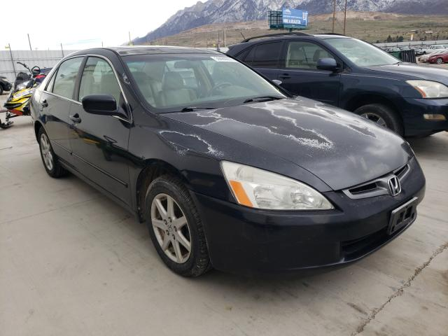 Salvage cars for sale from Copart Farr West, UT: 2003 Honda Accord EX