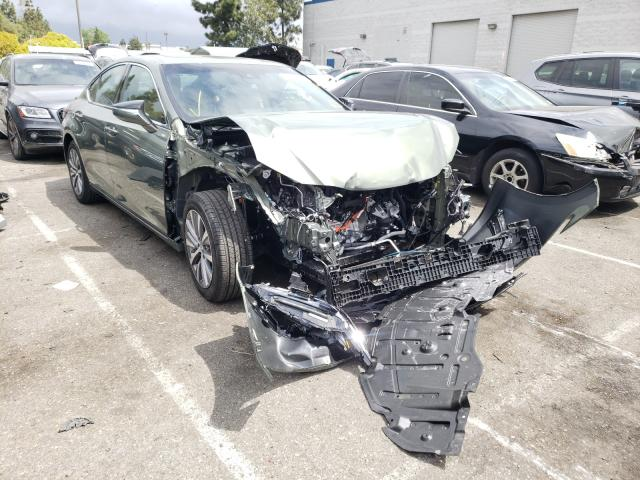 Salvage cars for sale from Copart Rancho Cucamonga, CA: 2021 Lexus ES 300H BA