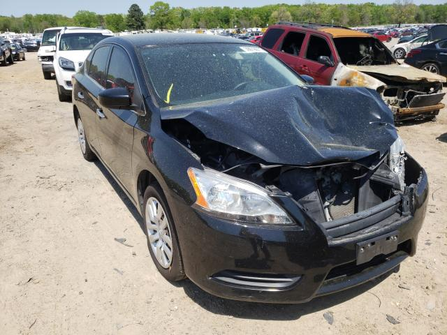 Salvage cars for sale from Copart Conway, AR: 2014 Nissan Sentra S