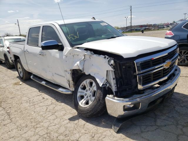 Salvage cars for sale from Copart Indianapolis, IN: 2014 Chevrolet Silverado