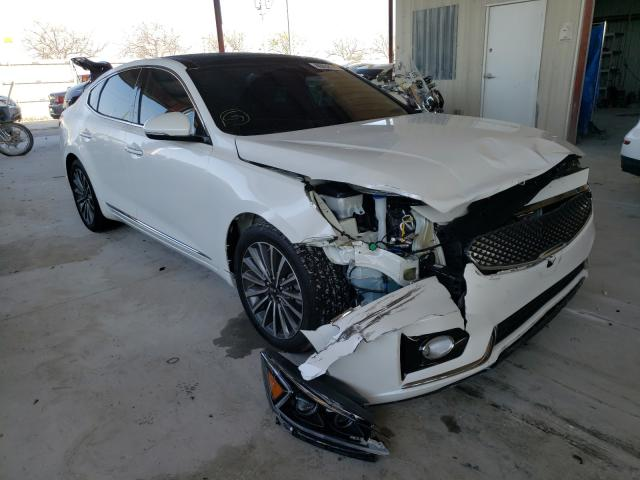 Salvage cars for sale from Copart Homestead, FL: 2018 KIA Cadenza LU