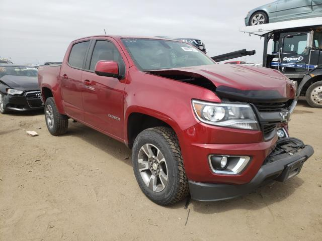 Salvage cars for sale from Copart Brighton, CO: 2019 Chevrolet Colorado Z