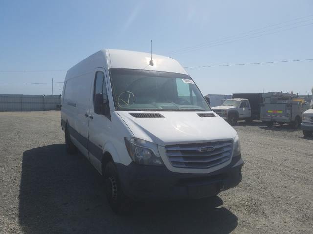 Salvage cars for sale from Copart Vallejo, CA: 2016 Freightliner Sprinter 3