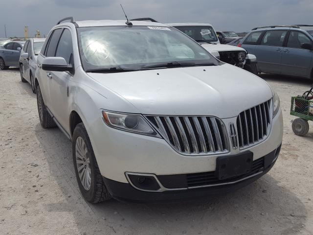 Salvage cars for sale at New Braunfels, TX auction: 2013 Lincoln MKX