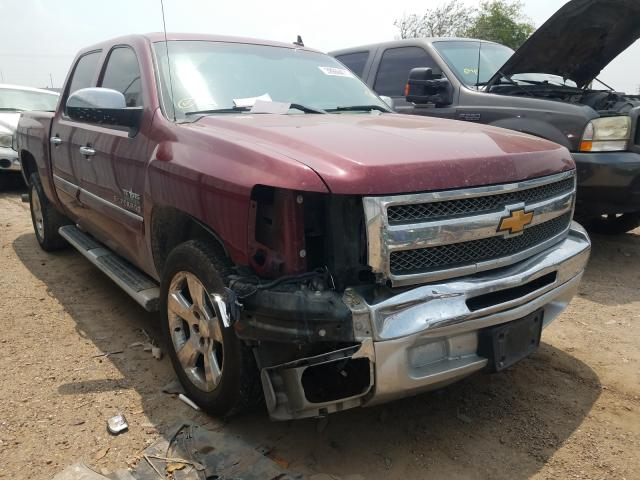 Salvage cars for sale from Copart Mercedes, TX: 2013 Chevrolet Silverado
