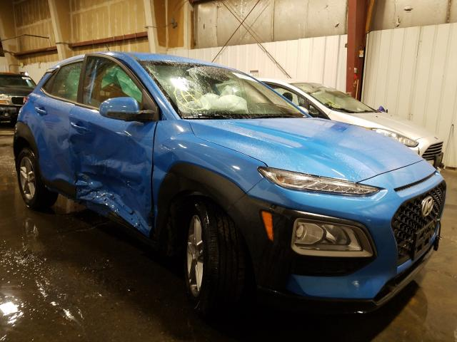 Salvage cars for sale from Copart Anchorage, AK: 2021 Hyundai Kona