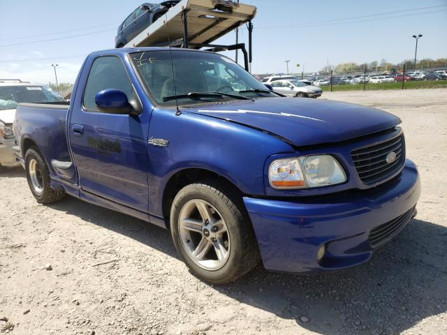Salvage cars for sale from Copart Indianapolis, IN: 2003 Ford F150 SVT L