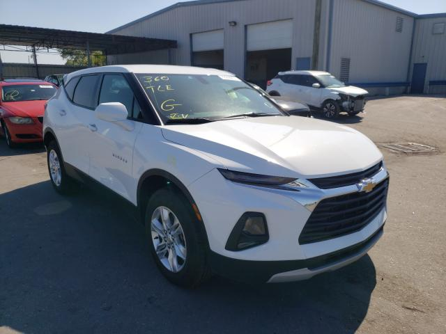 Salvage cars for sale from Copart Orlando, FL: 2020 Chevrolet Blazer 1LT