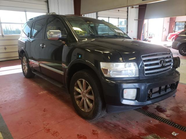 Salvage cars for sale from Copart Angola, NY: 2008 Infiniti QX56