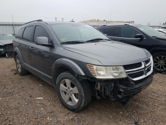 Salvage cars for sale from Copart Mercedes, TX: 2012 Dodge Journey SX